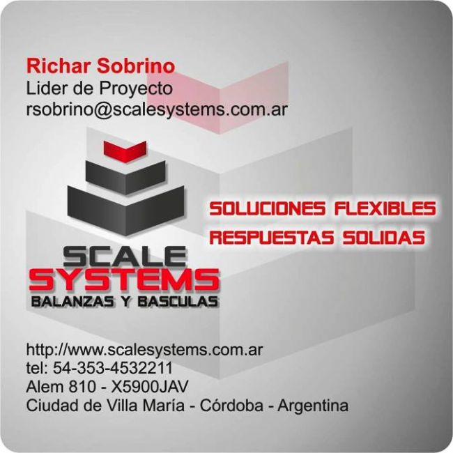 [SCALE SYSTEMS]